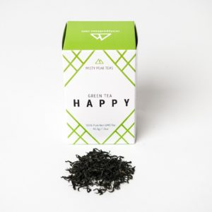Happy: Chinese Green tea (1.5oz / 42.5g)